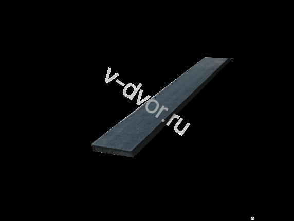 Заборная доска Черное дерево 3000х120х16 мм