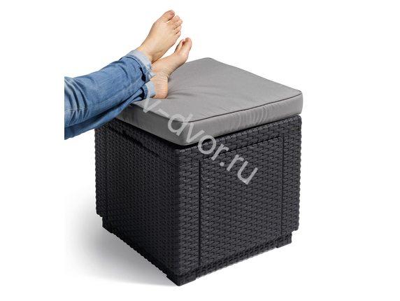 Cube With Cushion Пуф коричневый