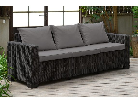 Комплект мебели California 3 Seater Коричневый