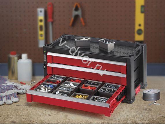 3 Drawer Tool Chest System (Модуль с тремя отсеками для стеллажа)