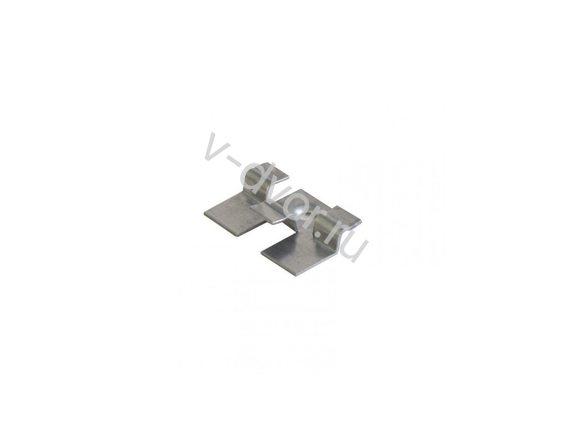 Кляймер Рядный 10-ка с пуклей (нерж сталь)