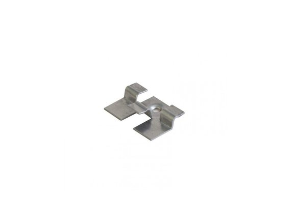 Кляймер Рядный 8-ка с пуклей (нерж сталь)