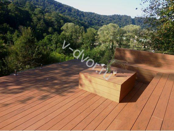 Доска полнотелая Bruggan Multicolor Cedar ( Кедр )2,2м